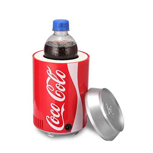 KEMIN USB Fridge Cooler Mini Fridge Use USB Cooler Cup Coffee Tea Car Refrigerator Office Cooler (Red) by KEMIN (Image #5)