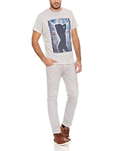 Hombre Cane Vaqueros Jeans Slim Gris Para Pepe q0Szxx