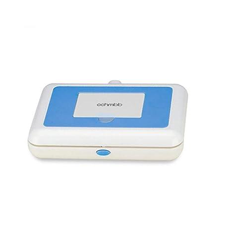 SLONG Bebé Toallitas Calentador/Coche Calefacción Toallitas Caja De Tejido Caja Desinfección, Hidratación Salud