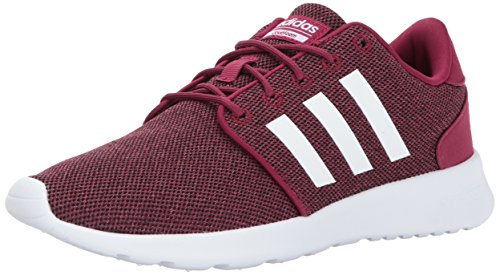 adidas Women's Shoes | CF QT Racer Running, Mystery Ruby/White/Black, (8.5 M US) by adidas