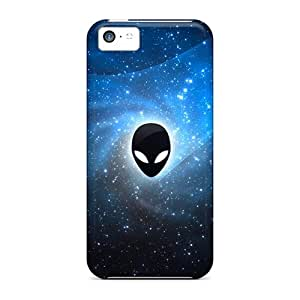 Iphone 5c Sdy15176opcp Customized HD Alienware Skin Shock-Absorbing Hard Cell-phone Cases -MansourMurray