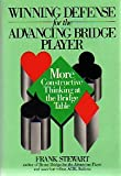 Winning Defense for the Advancing Bridge Player, Frank Stewart, 0139606912