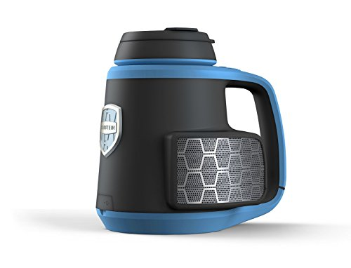 DubStein by DubGear Audio - World's 1st Bluetooth Splashproof Stereo Speaker with Beverage Integration (Wirelessly Play/ Stream Music, Phone Call Speakerphone Plus Drink Holder/ Beer Stein)