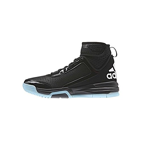 Adidas Dual Threat Bb Scarpa Junior Da Basket Nera