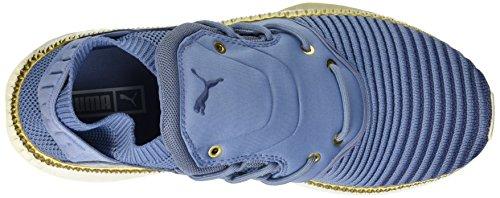 Puma Frauen Tsugi Shinsei Evoknit Schuhe, 37.5 EU, Infinity/Blue Indigo/Whisper White
