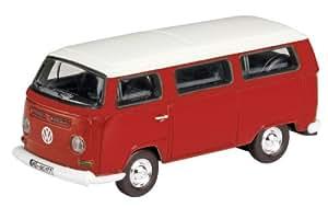 Dickie-Schuco 452586900 VW T2A - Furgoneta a escala 1:87 en color rojo/blanco
