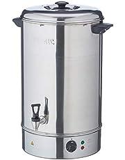 De buffelhandleiding vult Waterboiler 40Ltr 630x433x440mm Roestvrij staalverwarmer
