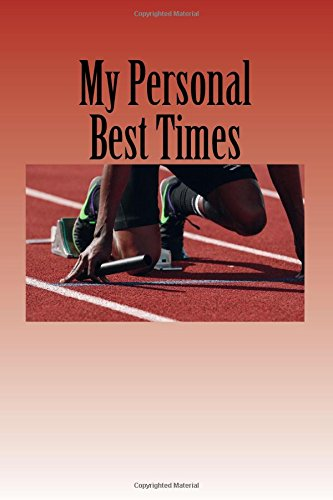 My Personal Best Times: Journal ebook