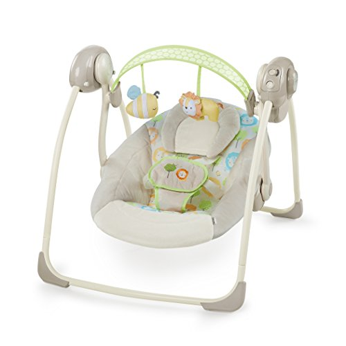 Ingenuity SooThe 'n Delight Portable Swing, Sunny Snuggles from Ingenuity