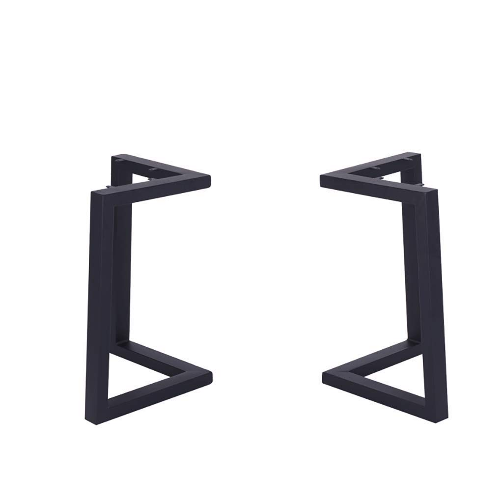 A 4575cm Desk Stand, Vintage Wrought Iron Dining Room Table Frame, bar, Hotel Table Legs, Dining Table Foot Stand (color   A, Size   45  75cm)