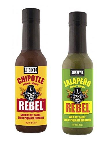 Aubrey D. Medium Hot Sauce Variety Pack, (5 oz. Each Flavor)