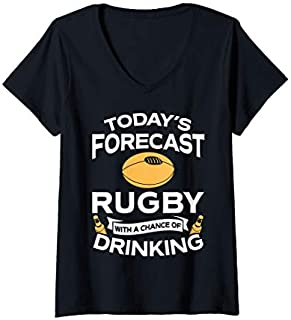 [Featured] Womens Funny Rugby Lover Gift Rugby Clothing Rugby V-Neck in ALL styles | Size S - 5XL