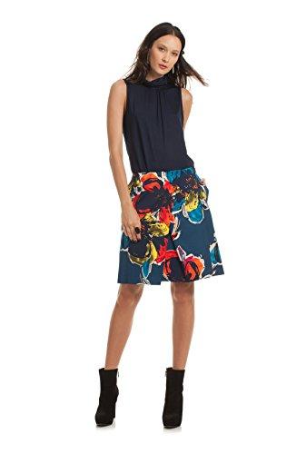 Trina Turk Women's Epiphany Skirt (2, Blue Floral Print) by Trina Turk