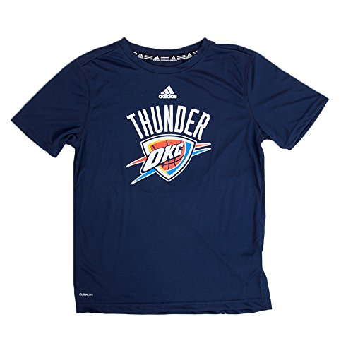 Adidas S/S Primary Logo Thunder Blue S/8Y Youths Shirt