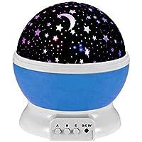 Fetta 360 Rotation Night Light Star Sky Moon Projector...
