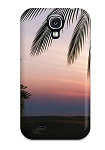 [ZvffrCU6517FBpME]premium Phone Case For Galaxy S4/ Sunset Tpu Case Cover