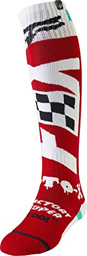 Fox Racing Fri Thin - Czar Men's Off-Road Motorcycle Socks - Cardinal/Large (Thin Fri)