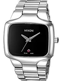 Nixon Men's A352-099-00 Player Automatic Analog Display Swi SS Automatic Black Watch