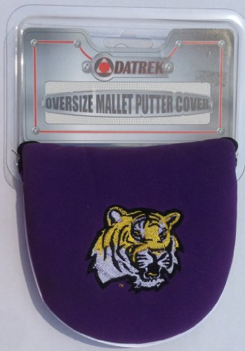 Datrek Putter (Officially Licensed Collegiate COLLEGE TEAMS Padded OVERSIZED Golf MALLET PUTTER COVER (LOUISIANNA STATE UNIVERSITY Tigers))