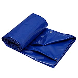 DUWEN Telo di copertura in PVC spesso, impermeabile ad alte prestazioni, per esterni, multiuso, per Shelter Shade Tent… 2 spesavip