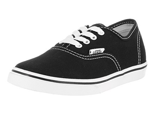 a259b991c85 Galleon - Vans Kids Authentic Lo Pro Casual Shoe Black White - Little Kid -  3