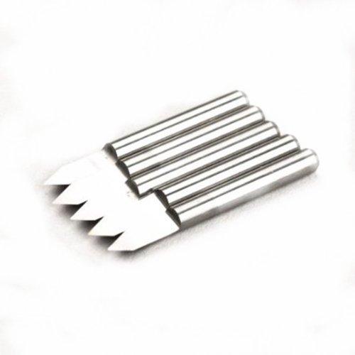 Autek 5x en métal dur gravons CNC PCB fraise Bits outil 60° 0.2mm j3.6002