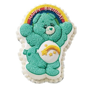 Wilton Care Bear Candle-Wish Bear