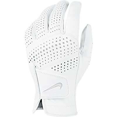 Nike Tour Classic II Golf Glove 2016 Regular White/Grey Silver Fit to Left Hand Medium/Large