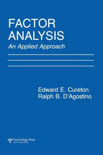 Factor Analysis: An Applied Approach