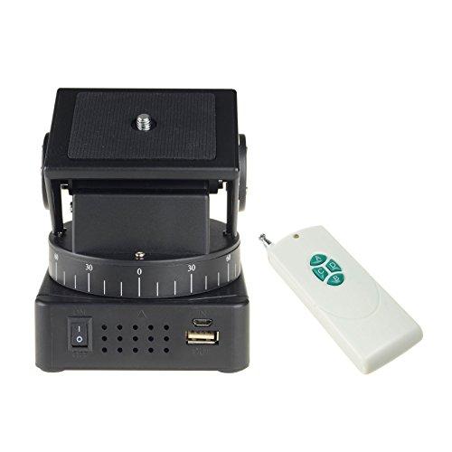 DSLRKIT YT-260 Remote Control Motorized Pan Tilt for Mobile Phones Gopro Cameras