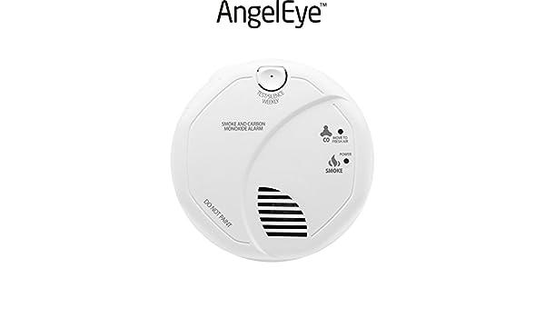 AngelEye - Detector compuesto de humo y de monóxido de carbono garantía 7 años sco5-ae-frr: Amazon.es: Bricolaje y herramientas