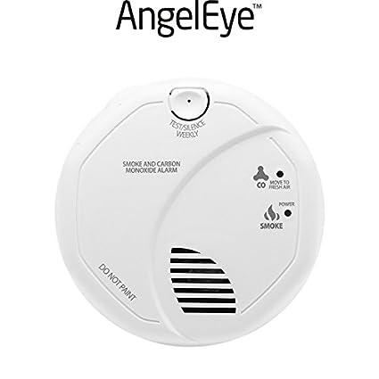 AngelEye – Detector compuesto de humo y de monóxido de carbono garantía 7 años sco5-
