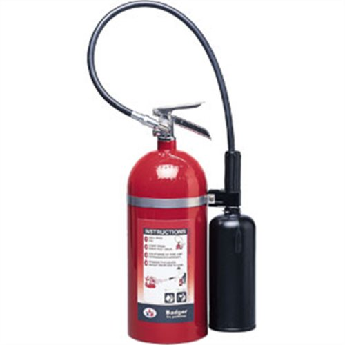 Badger Extra 10 lb CO2 Extinguisher w/ Wall Hook 21106 Fire Safety Detection (Extinguisher Co2)