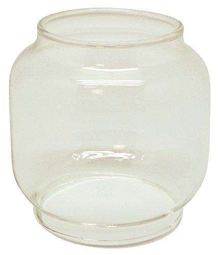 Transparent G/én/érique 303 Verrine de Rechange pour Lampe Temp/ête Verre