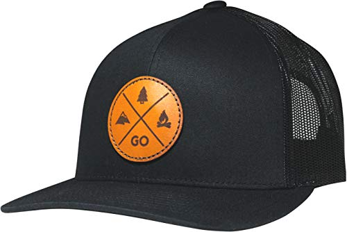 Lindo Trucker Hat - GO Outdoors (Black)
