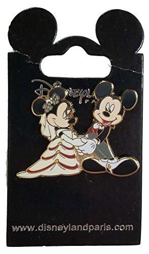 Disneyland Paris Pin - Mickey and Minnie Mouse - Wedding