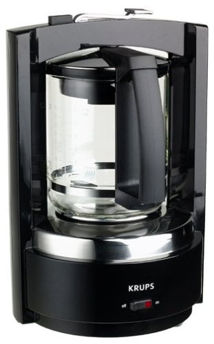 Krups 468-42 Moka Brew 8-Cup Coffeemaker, DISCONTINUED - Krups Coffee Filter Basket