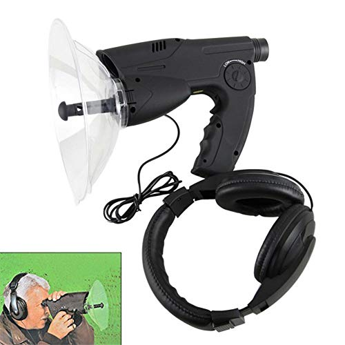 WXJY 300Ft Listening Device Extreme Sound Amplifier - Bionic Ear Birds Recording Watcher, 8X Monocular Telescope, Headphone Included - Bird Observing Device for Scientific Nature Explorer