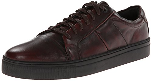 JD Fisk Men's Cadet Fashion Sneaker,Burgundy,9 M US (Cadet Footwear)