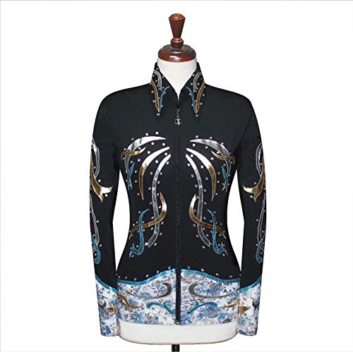 Western Pleasure Show Shirts - JC Apparel 3X-Large Rodeo Western Showmanship Show Jacket Horsemanship Pleasure Rail Outfit [76]