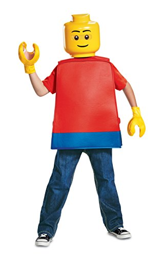 Disguise Lego Guy Basic Child Costume, One Size Child -