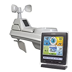 AcuRite 01512 Wireless Weather Station with 5-in-1 Weather Sensor: Temperature and Humidity Gauge, Rainfall, Wind Speed and Wind Direction