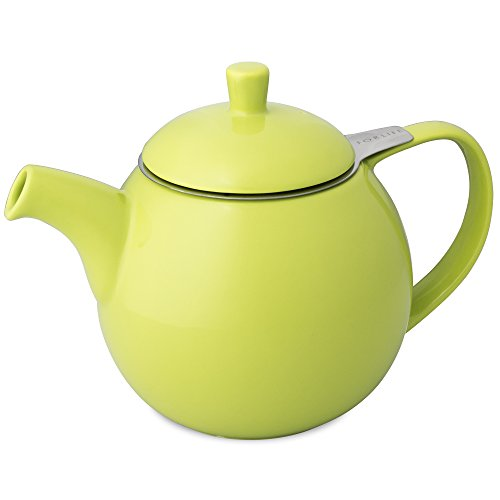 - FORLIFE Curve Teapot with Infuser, 24-Ounce, Lime