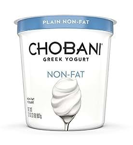 Chobani, Plain Non-Fat Greek Yogurt, 32oz