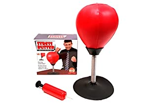 'Barwench Games' Desktop Punch Ball Stress Buster, Including Pump!
