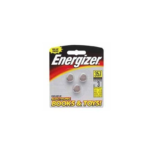 (Energizer Products - Batteries, For Watches and Calculator, 1.5 Volt, 3/PK - Sold as 1 PK - Batteries are designed for use in watches, car alarms, calculators, PDAs, electronic organizers, electronic books, pet collars, medical devices such as digital thermometers and glucose monitors, sporting goods such as pedometers, calorie counters and stopwatches and hardware devices such as tape measures, stud finders and electronic levels.)