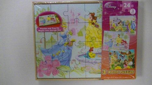 Disney Princess Wooden Jigsaw Puzzles
