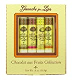 Chocolate aux Fruits Collection (4 x 0.15 oz) by Ganache for Lips