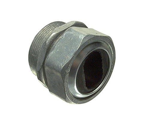 Halex 09115B Water Tight Connectors for Service Entrance Cables Zinc Die Cast (5 Piece), (Electrical Service Entrance)