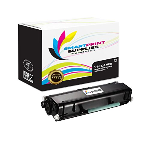 Smart Print Supplies Compatible 08A0477 MICR Black High Yield Toner Cartridge Replacement for Lexmark Optra E320 E322 Printers (6,000 Pages)